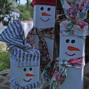 christmas holiday winter snowmen decorations