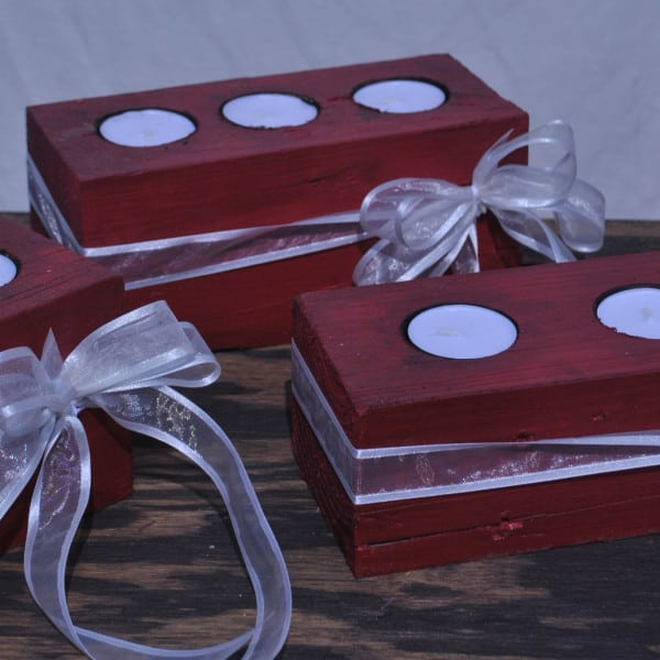 holiday christmas centerpieces candle holders