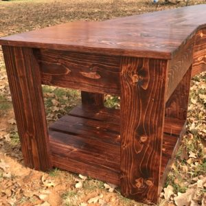 hidden gun storage end table